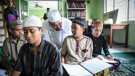 Wakaf Quran Braille