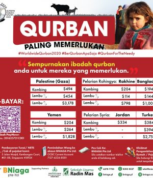 Most Needed – Qurban Paling Memerlukan