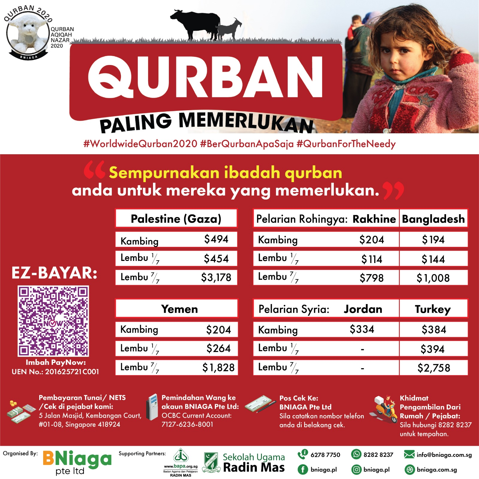 Most Needed - Qurban Paling Memerlukan
