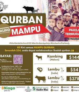 Most Affordable – Qurban Paling Mampu