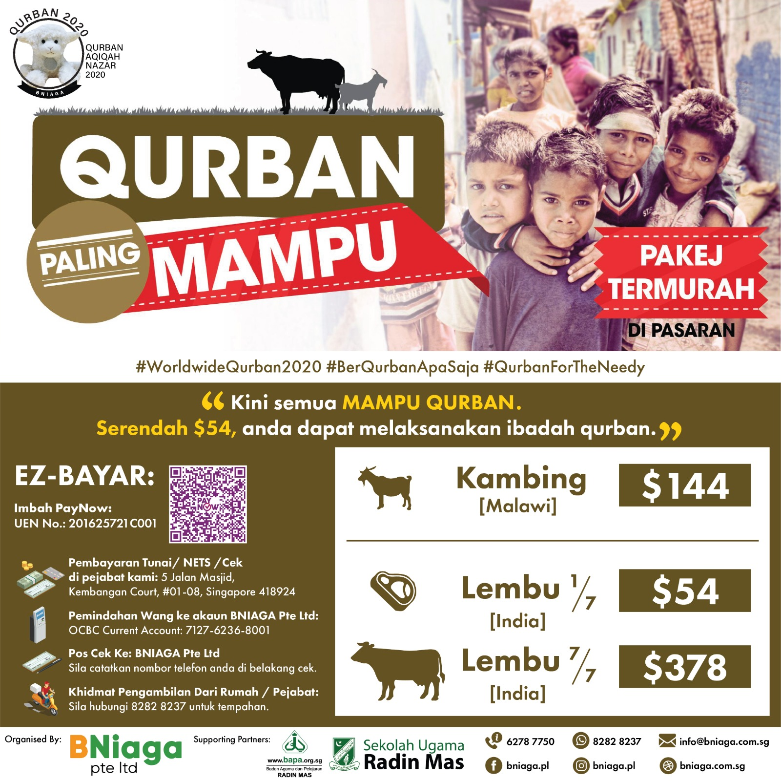 Most Affordable - Qurban Paling Mampu