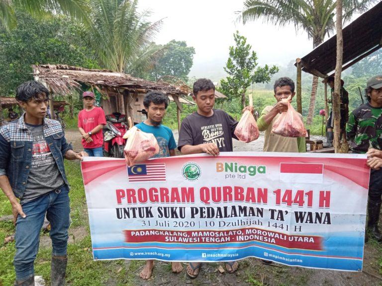 Qurban Suku Pedalaman Ta'Wana 2020